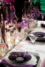 slideshow gallery of tabletop displays for wedding receptions