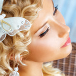 Wedding updos  and salon services for the bride